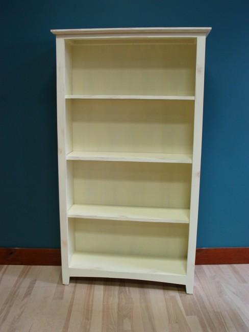 Shaker Bookcase 13 14 Deep – Bookcases Unfinished