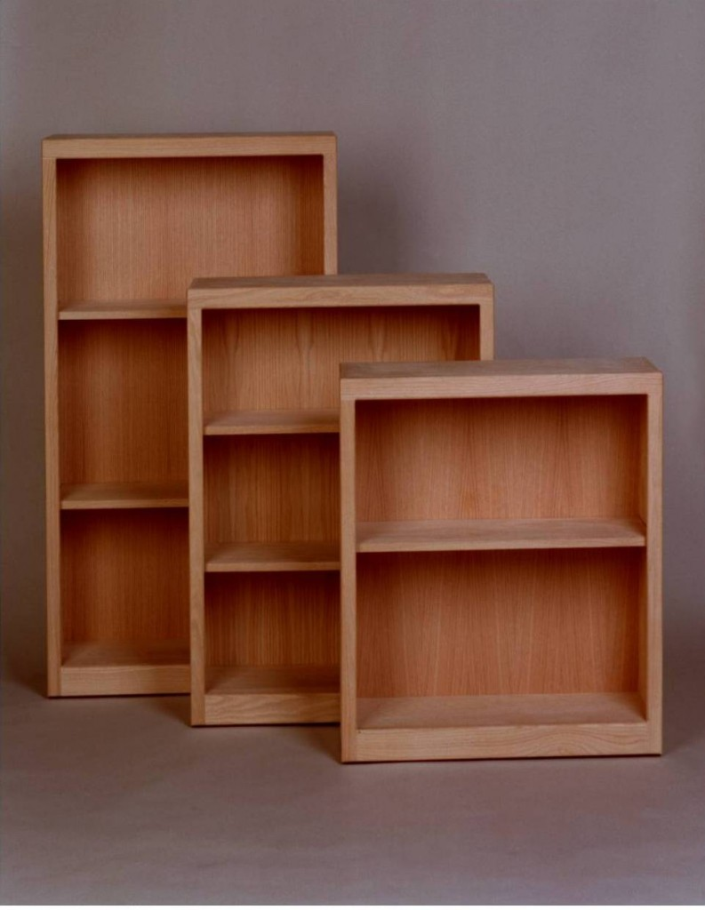 Contemporary Bookcase 10 Deep – Bookcases Unfinished