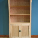 Cherry Mission Bookcase with Door Kit Clear Coat 40-4072-13