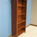 Quarter Sawn White Oak Mission Bookcase 50-3672-13 - Early American Stain