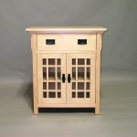Maple Mission Cabinet Unfinished #20602