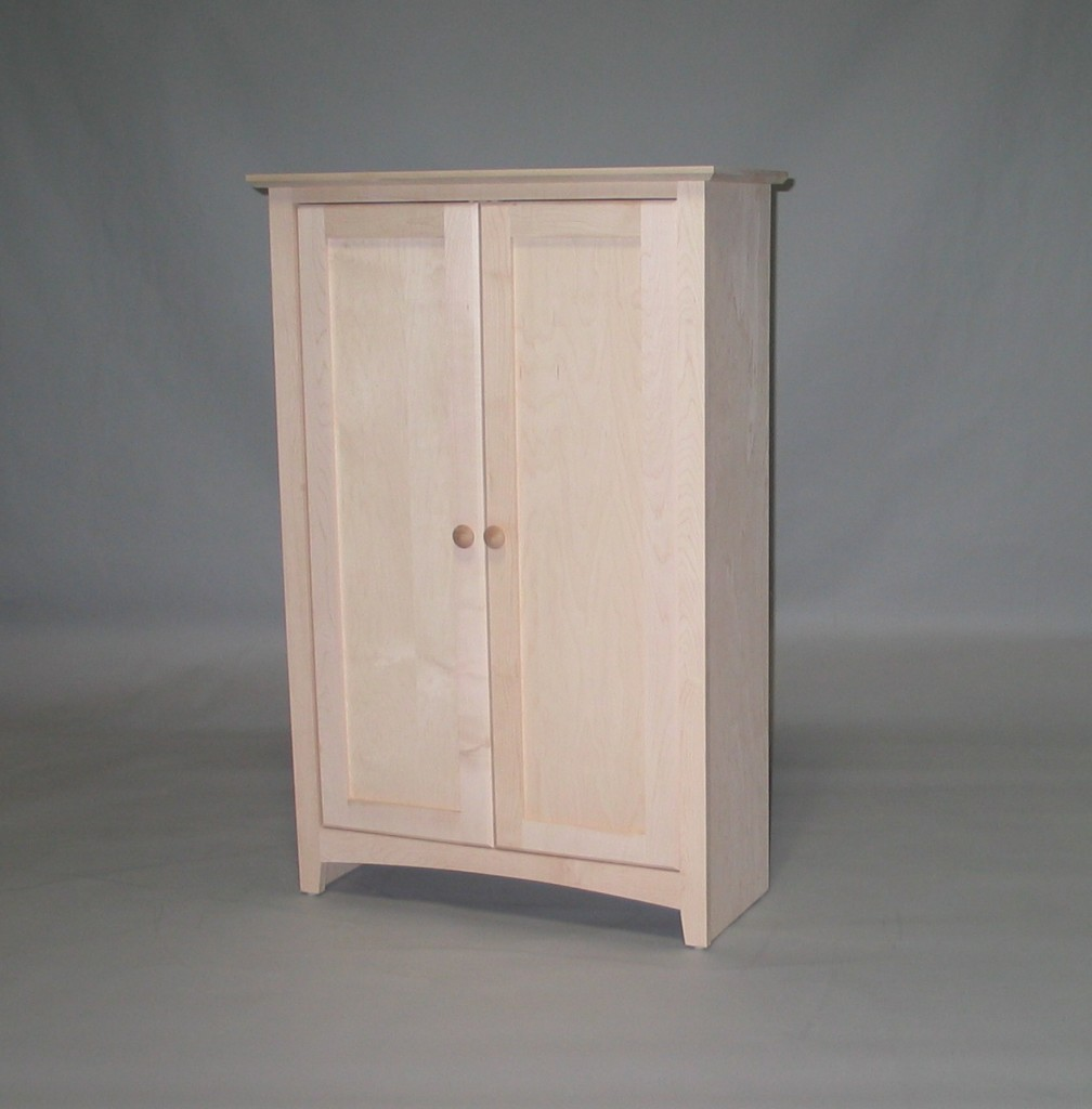 Modified Maple Shaker Cabinet Unfinished 21600