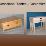Occasional Tables - Customized
