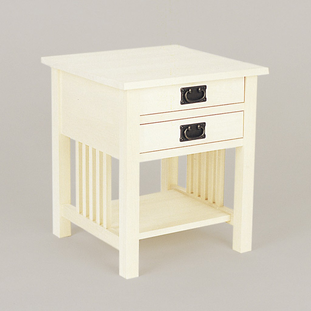 Mission 2 Drawer End-Night Stand 1013