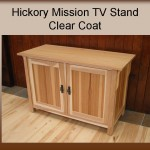 Hickory Mission TV Stand