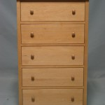 23205-D Maple Homestead Deep Drawer Chest - Clear Coat Only Finish (2)