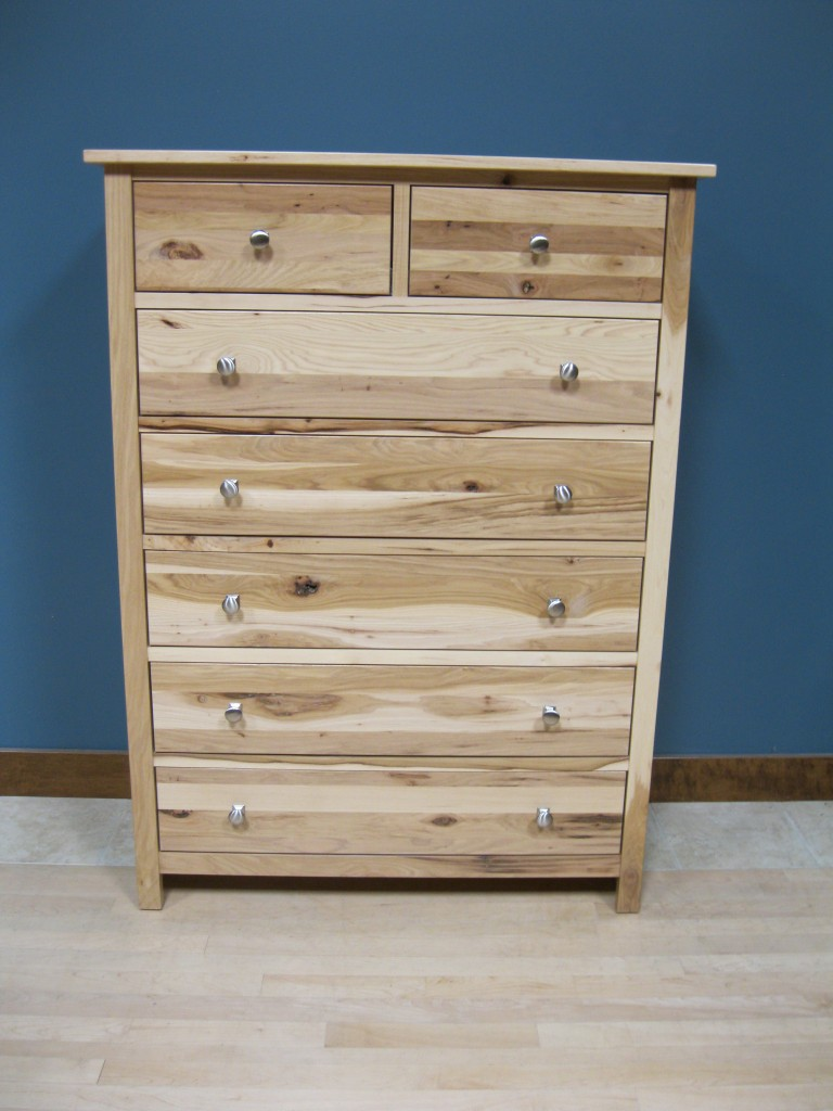 63206-S Hickory Homestead Six Chest Split - Clear Coat Only