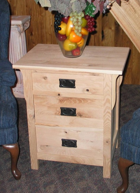 Three Drawer Nighstand