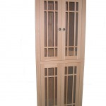 Modified Red Oak Cabinet - Inset to opening Unfinished 30601