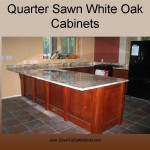 Quarter Sawn White Oak Cabinets - Early American Stain - 3